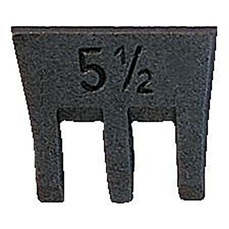 SFIX Hammerkeil Größe 3 26mm