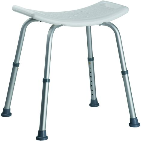 Sgabello Doccia Per Anziani Disabili Altezza Regolabile Sedia Sedile Vasca Bagno