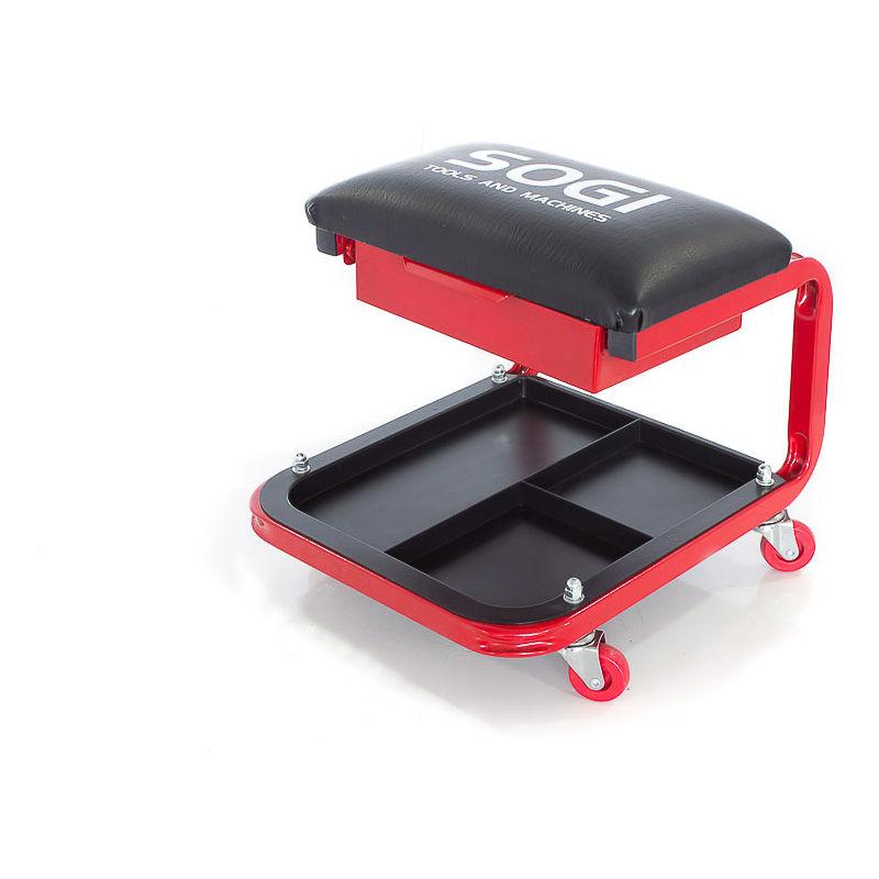 Sgabello officina carrello sgabellino ideale per auto moto quad sogi