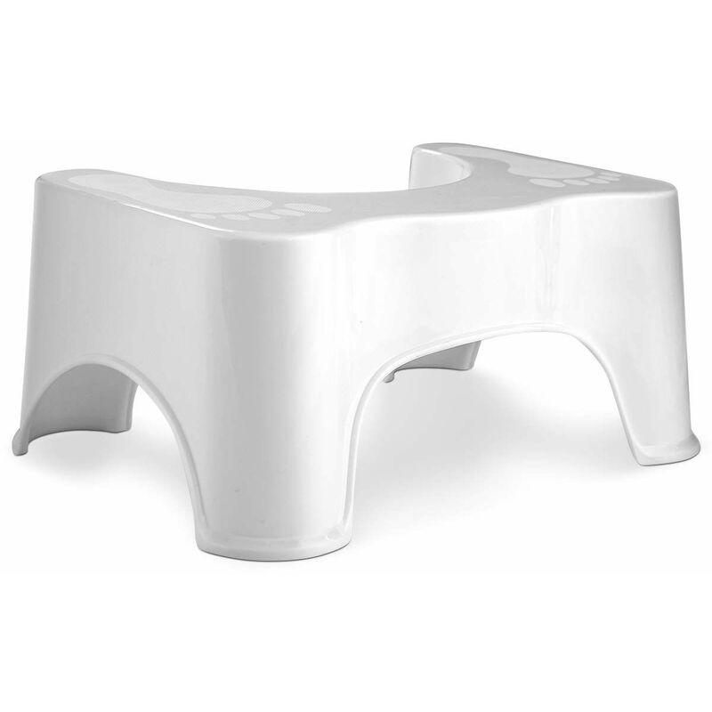 Sgabello Bambini Bagno Ikea sgabello wc sgabello servizi igienici poggiapiedi da bagno, per bambini o  adulti, antiscivolo, bianco