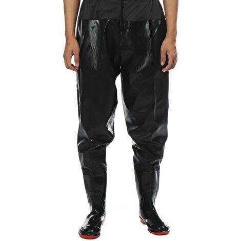 SGAM Hommes Taille Wading Pants Salopette Wader P