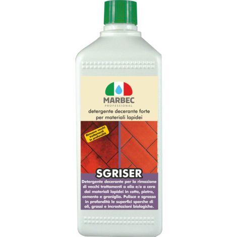 SGRISER   Detergente decerante forte per materiali lapidei