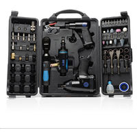 SGS 71pcs Air Tool Kit - Impact Wrench Die Hammer Ratchet & Grinder