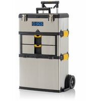 SGS Stainless Mobile Heavy Duty 3-in-1 Tool Box