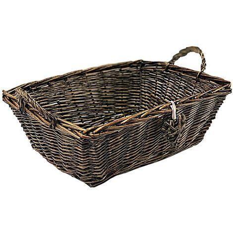 Shabby Chic Hamper Basket