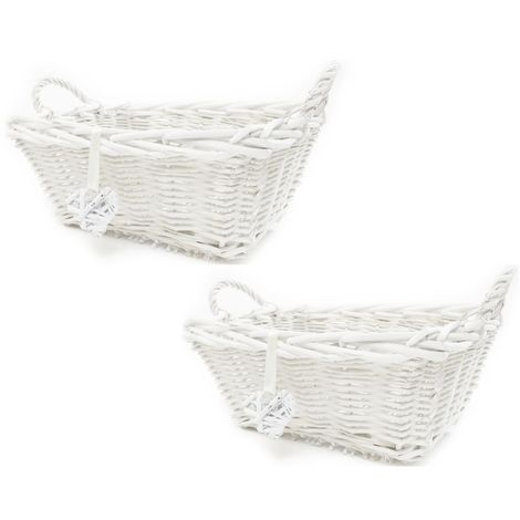 Shabby Chic Hamper Basket