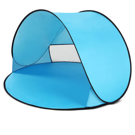 Shade tent blue