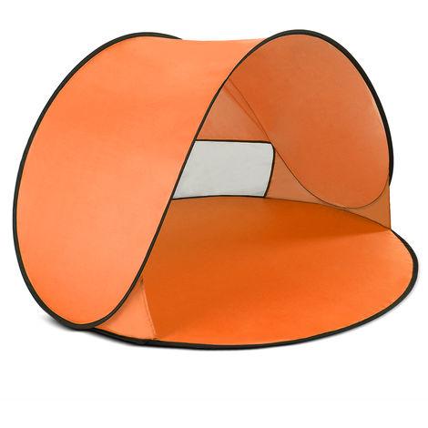 Shade tent orange