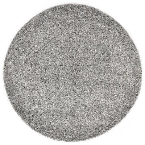Shaggy Area Rug 160 cm Grey