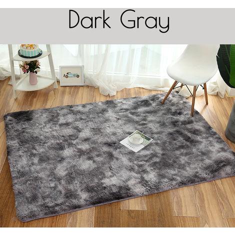 Shaggy living room rug 160 x 160cm 4.5cm Non-slip Hasaki
