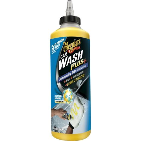 Shampoing auto renovateur Car wash plus Meguiars G25024