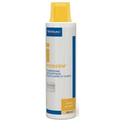 Shampoing dermatologique Pyoderm Virbac Flacon 500 ml