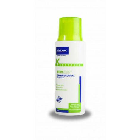 Shampoing Sebolytic pelliculaire Virbac pour chien et chat 200 ml