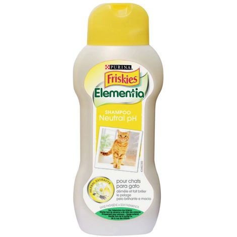 Shampoo Cat pH neutral 250ml with herbal extracts - Friskies Elementia Purina