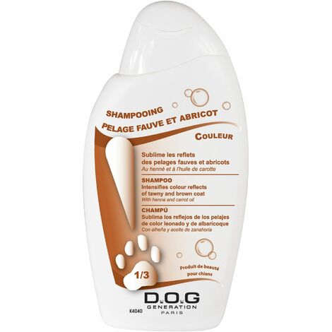Shampooing Pelage Fauve et Abricot Dog Generation