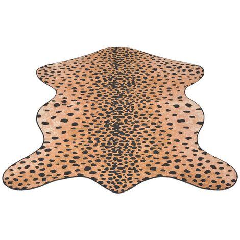 Shaped Rug 70x110 cm Cheetah Print