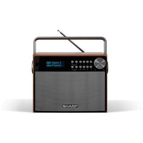 Sharp DR-P350 6W Portable Digital Radio with DAB/DAB+/FM and Bluetooth