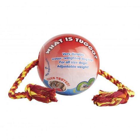 Sharples Tuggo Roped Ball (17.7cm) (Red)
