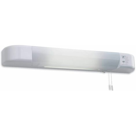 Shaver Lights wall lamp with razor plug, white and acrylic