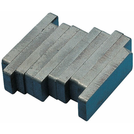 Shaw Magnets - Ferrite Block Magnet - 50 x 19 x 6mm - Pack of 10