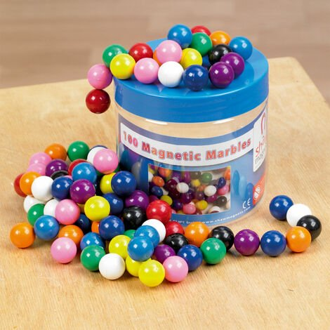 Shaw Magnets - Magnetic Marbles - Tub of 100