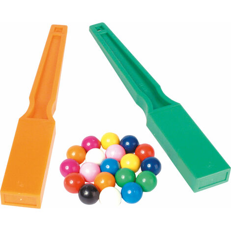 Shaw Magnets - Set of 2 Wands & 20 Marbles
