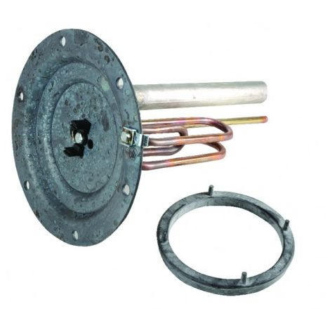 Sheathed element 1600W 230V + anode + gasket - ATLANTIC : 060186