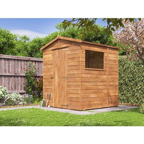 Shed Adam - Heavy Duty Apex Pressure Treated Wooden Garden Storage