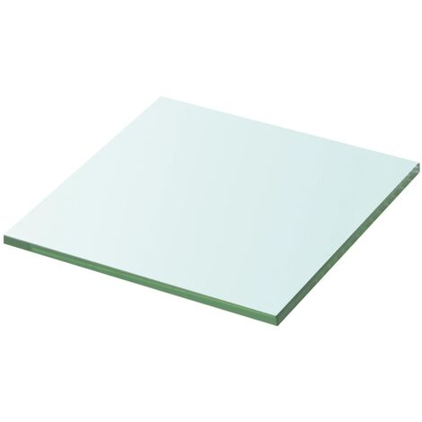 Shelf Panel Glass Clear 20x20 cm