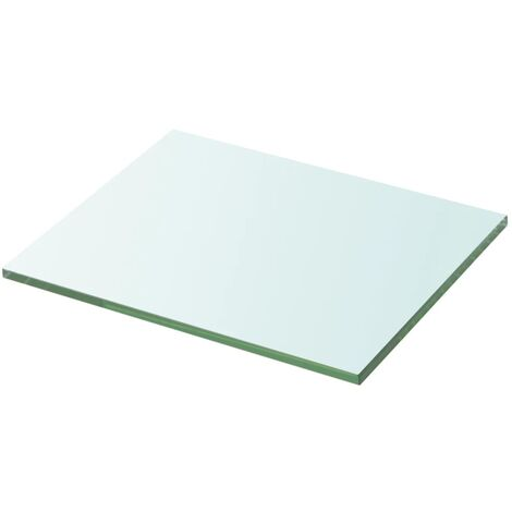 Shelf Panel Glass Clear 20x25 cm