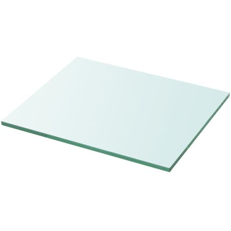 Shelf Panel Glass Clear 30x25 cm