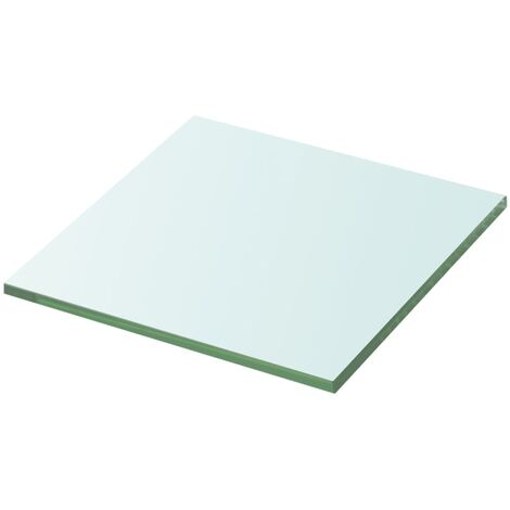 Shelf Panel Glass Clear 30x30 cm