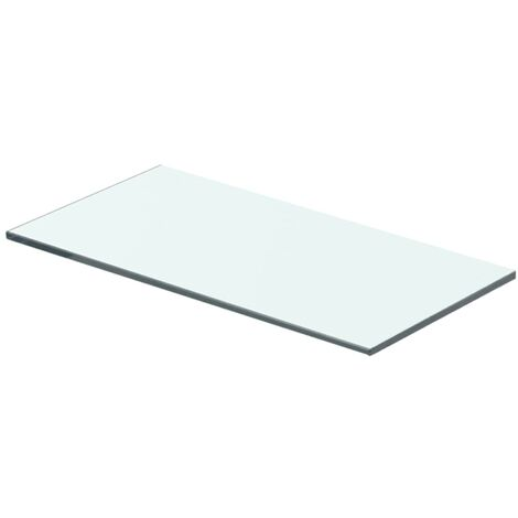 Shelf Panel Glass Clear 40x15 cm