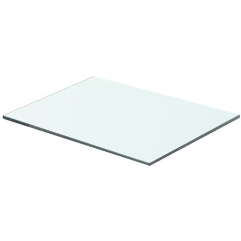 Shelf Panel Glass Clear 40x25 cm