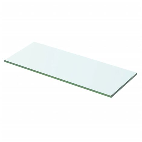 Shelf Panel Glass Clear 50x15 cm