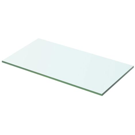Shelf Panel Glass Clear 50x20 cm