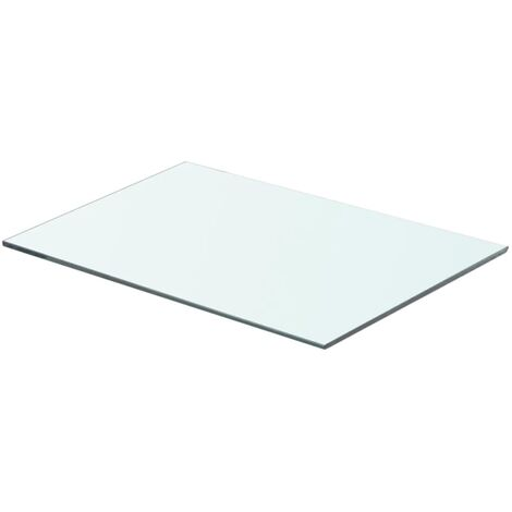 Shelf Panel Glass Clear 50x30 cm