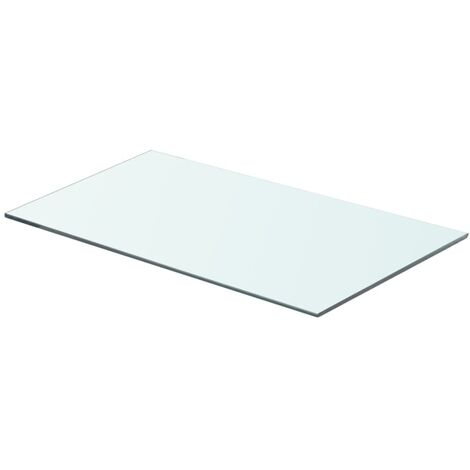 Shelf Panel Glass Clear 60x30 cm