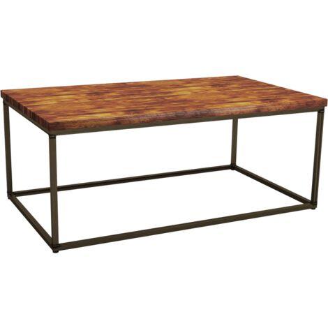 Shelley Rect Rustic Pine Coffee Table 120cm x70cm