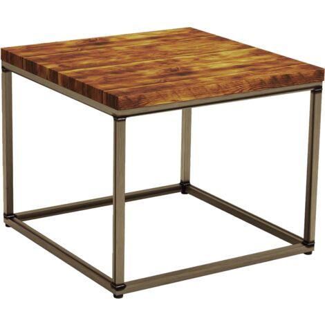 Shelley Square Rustic Pine Coffee Table 60cm x 60cm