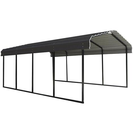ShelterLogic Stahlcarport Garage Überdachung Rom 370x600 cm