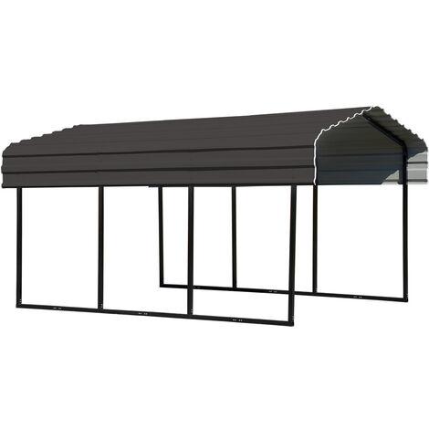 ShelterLogic Stahlcarport Garage Überdachung Venedig 465x305x250 cm