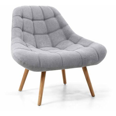 "main image of ""Sheritan Light Grey Armchair"""