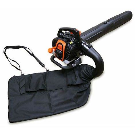 Sherpa Premium Petrol Leaf Blower Vac (Easy Start) 25.4cc + Free Spare Bag
