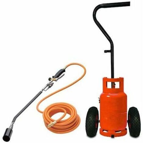 Sherpa Professional Gas Weed Burner and Trolley Kit
