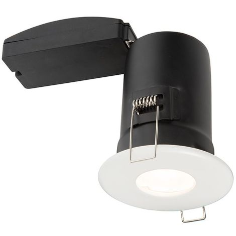 shield PLUS MV IP65 50W recessed light matt white paint