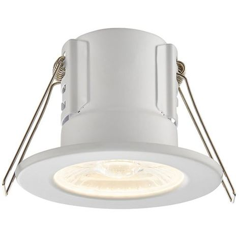 Shieldeco 500 IP65 4W Warm White Down Lighting Recessed - Matt White
