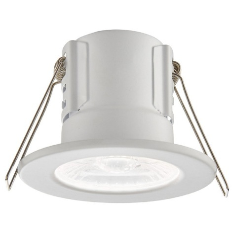 ShieldECO White Bathroom Downlight IP65 4W Dimmable Cool White Light