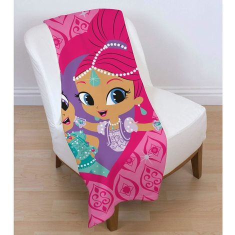 Shimmer And Shine Zahramay Fleece Blanket (One Size) (Pink)