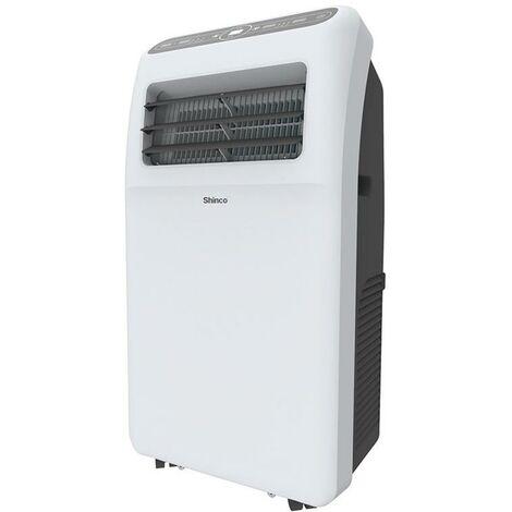 Shinco Aire Acondicionado Móvil 12,000 BTU ~90 m³ / 30 m² Aire Acondicionado Portátil 3,5 kW [Clase energética A]